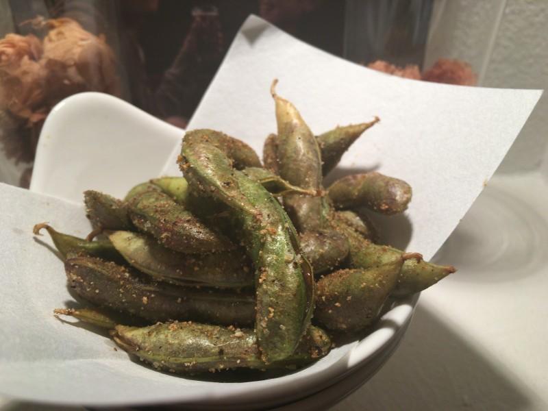 枝豆のフリット